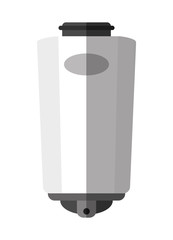 Soap container machine icon. House appliances supplies and electronic theme. Isolated design. Vector illustration