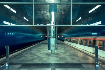 U-Bahn Neue Hafencity Hamburg