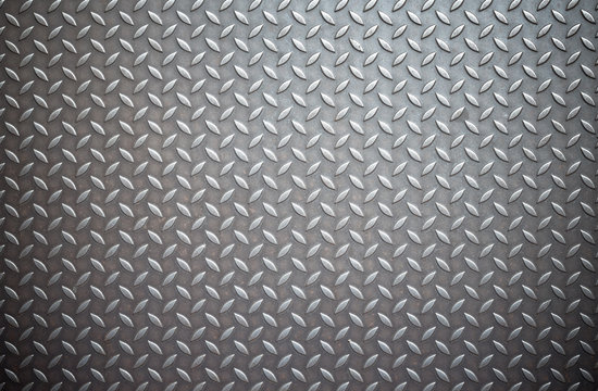weathered metal diamond plate,Used for textured and background