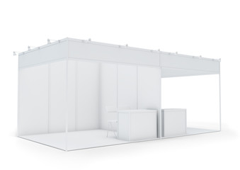 Exhibition Booth Blank : Blank exhibition stand buy this stock photo and explore similar