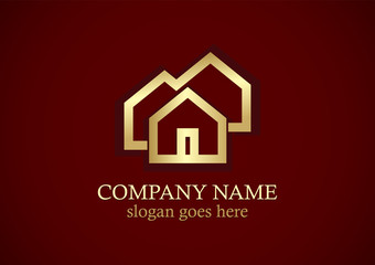 homes gold realty logo