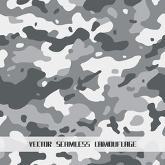 vector seamless camouflage background