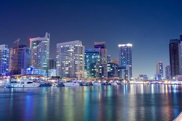Dubai Marina Cityscape