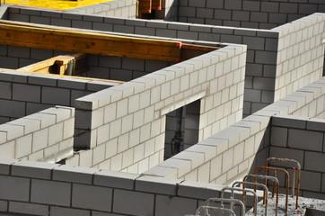 Baustelle Hausbau