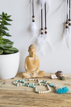 Buddha and Mala