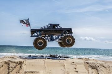 Monster Truck Show Jump