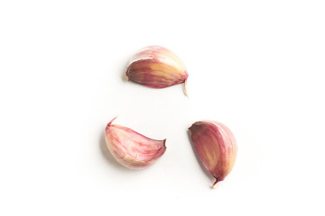 Raw Red Garlic