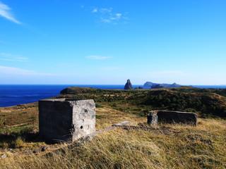 聟島(ケータ島) 戦争遺跡