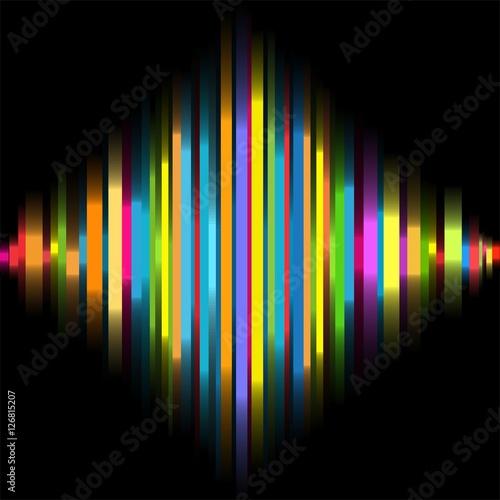 Tonkurve Farbverlauf Bunte Reihen Moderner Hintergrund Coole Grafik