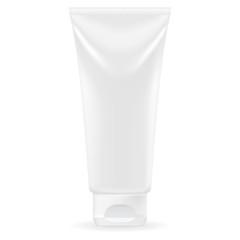 Toothpaste or cream white tube