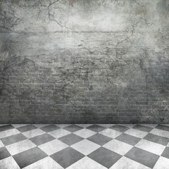 Old Wall Interior Background