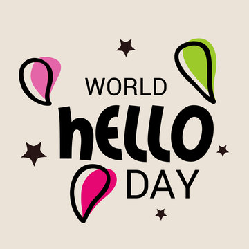 World hello day.