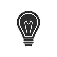 Lamp - vector icon.