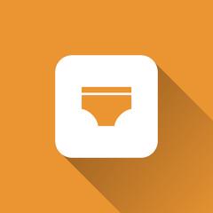 diaper icon. flat style