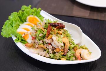 Wing Bean Spicy Salad (yum tua pu in thai)