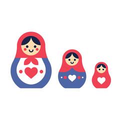 Matryoshka dolls set