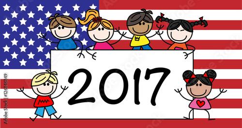 happy new year 2017 america usa