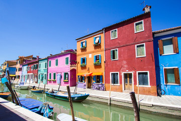 Burano isalnd in Italy