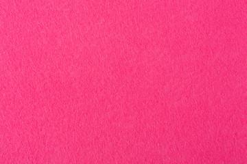 Macro photo of red felt texture.