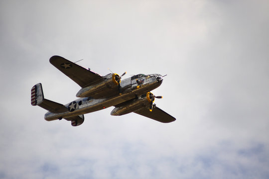 World War II bomber plane