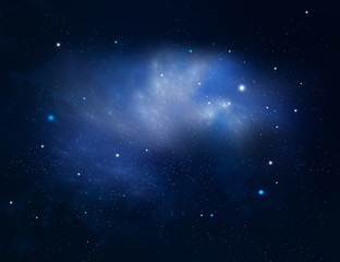 starry night background, galaxy