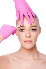Injection facial skincare spa beauty treatment