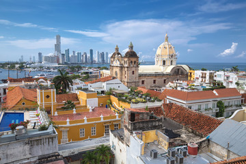 View of Cartagena de Indias, Colombia