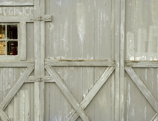 Gray Weathered Wood Structure