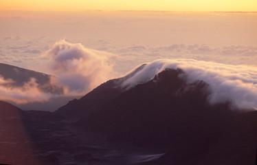 Haleakala Volcano at Sunrise