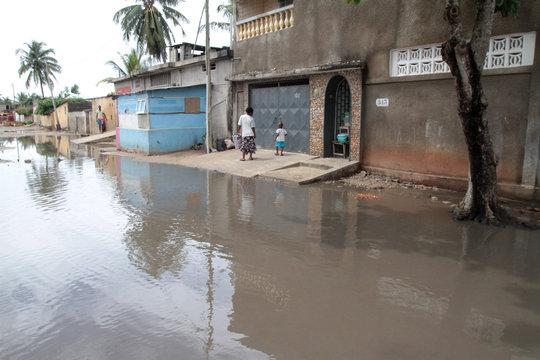 Inondation. Lomé. Togo. / Flood. Lome. Togo.