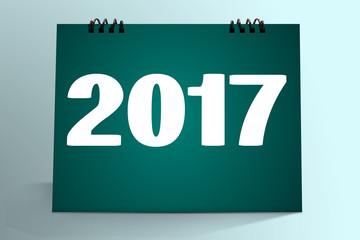 2017  with calendar Mock-up.