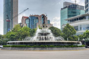 Diana Cazadora Fountain - Mexico City