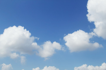 Background with Clouds in the sky