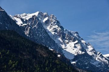 Berg nahe Grainau in Oberbayern