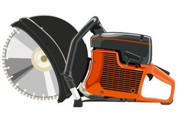 Orange power cutters