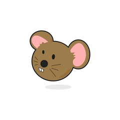 Cartoon Mouse or Rat Face