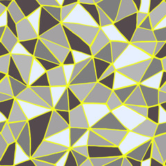 Abstract polygonal seamless vector pattern