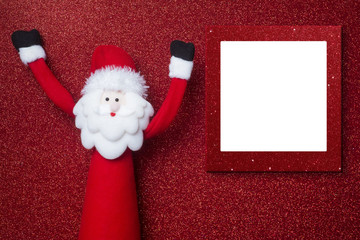 Christmas photo frame card