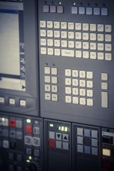 Control panel detail