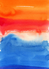 Watercolor background. colorful Abstract water color art