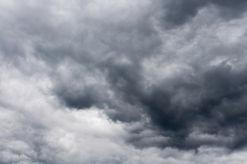 Ominous Grey Storm Clouds
