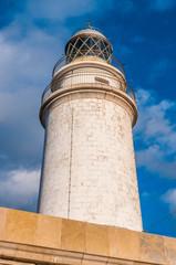 Der Leuchtturm am Cap Formentor im Nordosten von Mallorca (Far de Formentor)