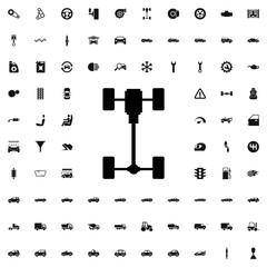 axle icon illustration