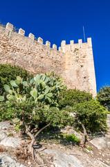 Das Castell de Capdepera auf Mallorca