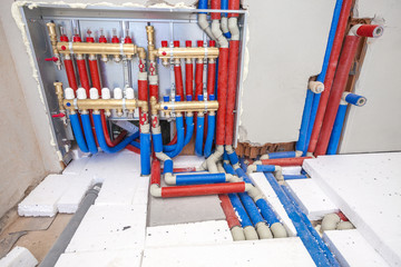 distributor of central heating