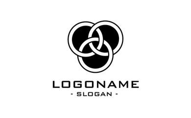 logo abstract flat
