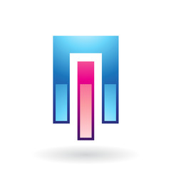 Entwined Rectangles Abstract Icon