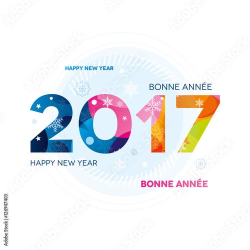 2017 carte de voeux color e photo libre de droits sur la banque d 39 images image - Carte voeux gratuite 2017 ...