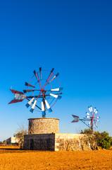 Wall Mural - Traditionelle Windmühle auf Mallorca