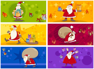 christmas greeting cards collection